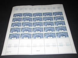 Timbre France Neuf** 1967 N° 1537 HUGUES CAPET  FEUILLE COMPLETE - Ganze Bögen