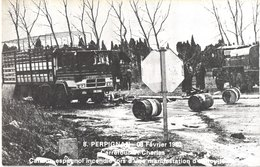 FR66 PERPIGNAN - Rovira 8 - 08 /02/1980 - Saint Charles  Camion Espagnol Incendié Lors D'une Manif Viticole Belle - Perpignan