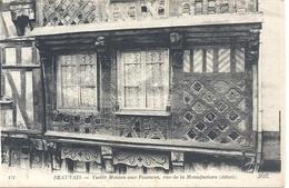 BEAUVAIS . VIEILLE MAISON AUX FAIENCES RUE DE LA MANUFACTURE ( Detail ) CARTE NON ECRITE - Beauvais
