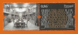 Portugal   2018 , The 250th. Anniversary Of Imprensa Nacional - Postfrisch / MNH / (**) - 1910-... Republik