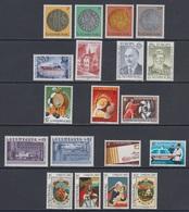 1980 ** Luxemburg (sans Charn., MNH, Postfrish) Complete   Mi 1003/21   Yv 953/71  (19v) - Luxembourg