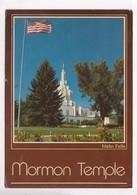 Mormon Temple, Idaho Falls, 1984 Used Postcard [22461] - Idaho Falls