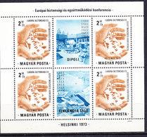 Hungary 1973 KSZE/OSCE M/s  ** Mnh (41501A) - Hongarije