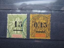 VEND TIMBRES DE MADAGASCAR N° 50 + 54 !!! - Madagascar (1889-1960)