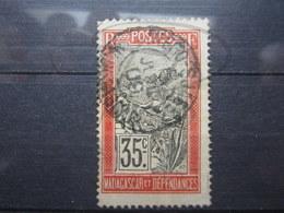 "VEND TIMBRE DE MADAGASCAR N° 103 , OBLITERATION "" DIEGO-SUAREZ "" !!! - Used Stamps"