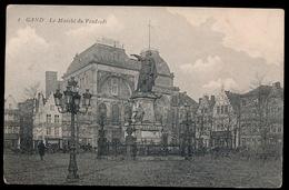 GENT  LE MARCHE AUX VENDREDI - Gent