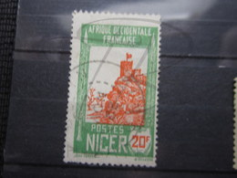 """VEND TIMBRE DU NIGER N° 52 , OBLITERATION """" ZINDER """" !!! - Niger (1921-1944)"""