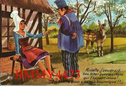 CPM HUMOUR - Rosette, J'voudrais Ben Biser Queuque Chose Qui T'appartienne ! ... - N° 28 Ed. AS DE COEUR  ARTAUD Frères - Humour