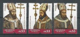 Portugal   2018 , Arcebispos De Braga - Postfrisch / MNH / (**) - 1910-... Republik