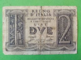 2 Lire 1939 - [ 1] …-1946 : Regno