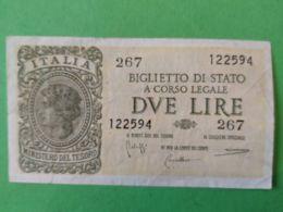 1 Lira 1944 - [ 2] 1946-… : Repubblica