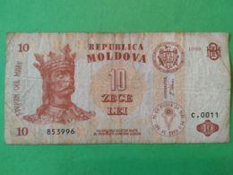 10 Lei 1998 - Moldavie