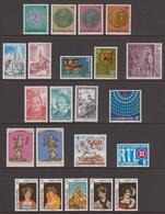 1979 ** Luxemburg (sans Charn., MNH, Postfrish) Complete   Mi 981/02   Yv 931/52  (22v) - Luxembourg