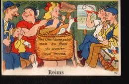 CPA069.....CARTE A SYSTEME ...REIMS - Reims