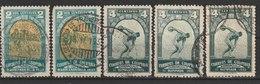 MiNr. 351 - 352  Kolumbien 1935, 26. Jan. 3. Internationale Olympische Spiele Süd- Und Mittelamerikas, Barranquilla. - Kolumbien