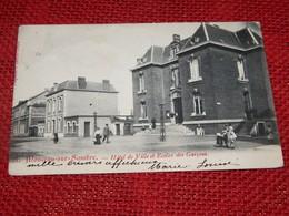 MONCEAU-sur-SAMBRE  -  Hôtel De Ville Et Ecoles Des Garçons - Charleroi