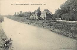 PONTORSON - Le Couesnon Pris Du Pont. - Pontorson