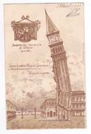 Illustrateur A.D Stella En 1902 Fondatore Del Campanile Di S. Marco Come è Cadulo Il Giganie Venezia - Venezia (Venedig)