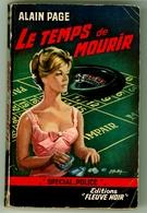 """Policier - Alain Page - """"Le Temps De Mourir"""" - 1963 - Fleuve Noir"""