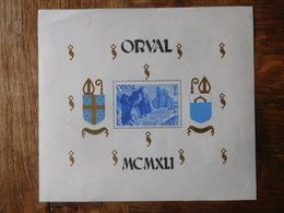 Bloc Orval 1941 Dentelé / Timbres Belgique - Blocs 1924-1960
