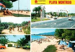 73055730 Tarragona Playa Montroig Camping Tarragona - Spanien