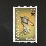 CENTRAL AFRICAN REPUBLIC. WWF.  MNH (B3003C) - Birds