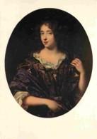 Art - Peinture - Pierre Mignard - Portrait D'Hélène Ferrand, Marquise De Si-Germain-Beaupré - Carte De La Loterie Nation - Paintings