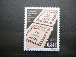 First Postage Stamp Centenary # Lietuva Litauen Lituanie Litouwen Lithuania # 2018 MNH #Mi. - Lithuania