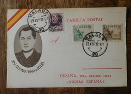 Malaga 1937 José Antonio Primo De Rivera / Espana - 1931-Aujourd'hui: II. République - ....Juan Carlos I