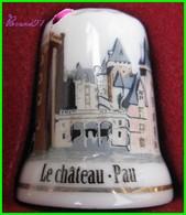 Dé à Coudre Le Château De Pau Thimble Fingerhut #8 - Dés à Coudre