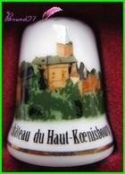 Dé à Coudre Le Château Du Haut Koenisbourg Thimble Fingerhut #2 - Dés à Coudre