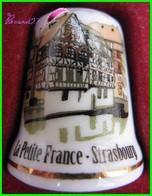 Dé à Coudre Petite France Strasbourg Thimble Fingerhut #21 - Thimbles