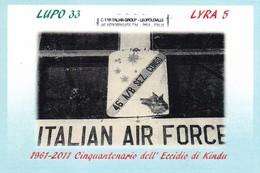 ITALIA  MARCOFILIA PISA 50° ANNIVERSARIO DELL' ECCIDIO DI KINDU 2011 - 6. 1946-.. Repubblica
