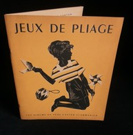 ( Enfantina Origami Albums Du Père Castor ) JEUX DE PLIAGE Ferdinand COEUR 1949 FLAMMARION - Otros