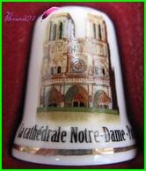 Dé à Coudre Cathédrale Notre Dame De Paris Thimble #18 - Dedales