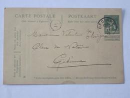Entier Postal Envoyé De Willerzie Ves Gedinne ... Lot7 . - Entiers Postaux