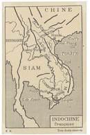 Carte Verso Vierge Indochine Française - Siam , Chine , Tonkin - Viêt-Nam