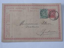 Entier Postal Envoyé De Willerzie Vers Gedinne Le 25 Mai 1921 .. Lot7 . - Entiers Postaux