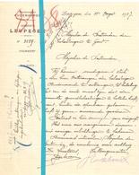 Brief Lettre - Gemeente Leupegem - Naar Kadaster 1927 - Old Paper