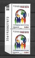 France 2018 - Yv N° 5290 ** - Déclaration Universelle Des Droits De L'Homme - France