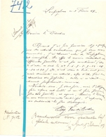 Brief Lettre - Edg. Van Der Eecken Leupegem - Naar Kadaster 1927 - Old Paper