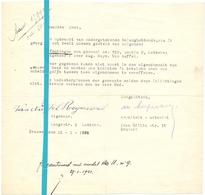 Brief Lettre - Raymond Van Nuffel Lebbeke - Naar Kadaster 1931 - Old Paper