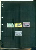 ASCENSION NAVIRES CIVILES AUX FALKLAND EN 1982 4 VAL NEUFS A PARTIR DE 1 EURO - Ascension (Ile De L')