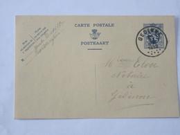 Entier Postal Envoyé De Willerzie Vers Gedinne Le 19 Juin 1932 ... Lot7 . - Postwaardestukken