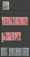 MiNr. 240 - 242  Kolumbien 1917/1919. Freimarken: Personen, - Kolumbien