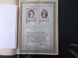 LITTERATURE.FAC-SIMILE.EPITAPHE DE MOLIERE PAR SON AMI LA FONTAINE. - Old Paper