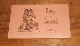 Santiago De Compostela. Dépliant De Photos. 10 Photographies. - Espagne