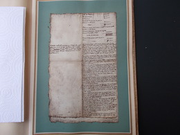 HISTOIRE.FAC-SIMILE.UN MEMOIRE DE COLBERT A LOUIS XIV.REDUCTION DE SES DEPENSES FASTUEUSES.DEUX PAGES. - Old Paper
