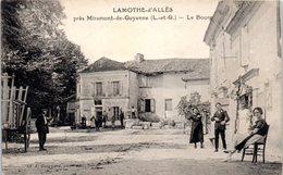47 - LAMOTHE D'ALLES --  Le Bourg - Autres Communes