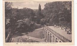 Cp , 03 , VICHY ,  Parc Des Célestins Et Terrasse De L'Orangerie - Vichy